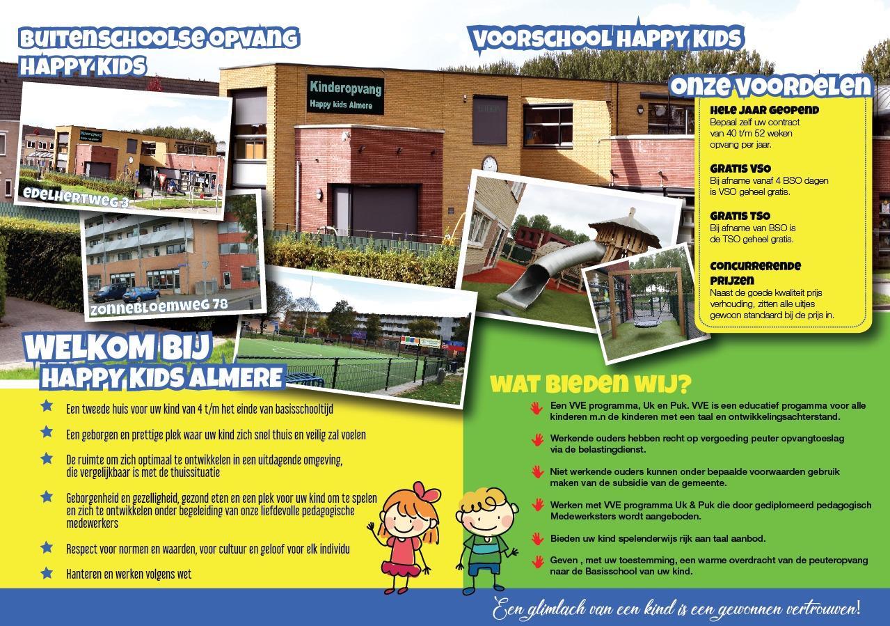 Happy Kids Almere Flyer 01