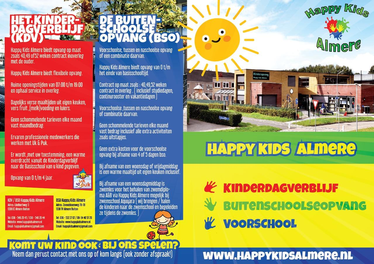 Happy Kids Almere Flyer 02